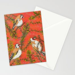 Goldfinches in Gorse Stationery Cards