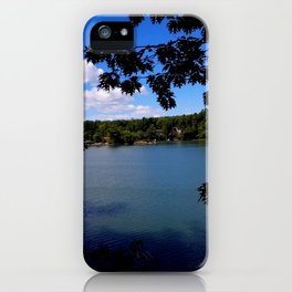 Afternoon at Grover place iPhone Case