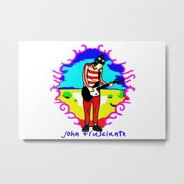 Under Frusciante Metal Print
