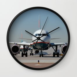 AIRLINER2 Wall Clock