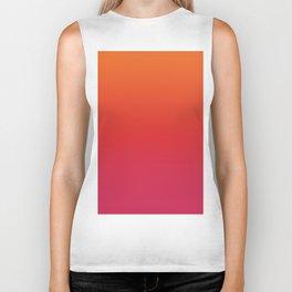 YOUNG DEATH - Minimal Plain Soft Mood Color Blend Prints Biker Tank