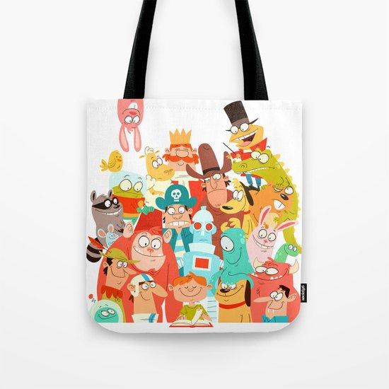 Storybook Gang Tote Bag