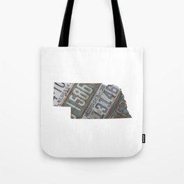 Vintage Nebraska Tote Bag