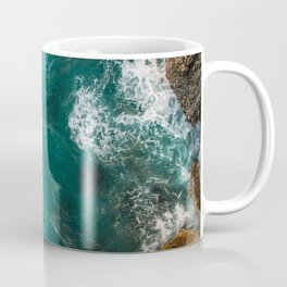 AERIAL - SHOT - BIRD - S - EYE - VIEW - FROM - ABOVE - PHOTOGRAPHY Coffee Mug