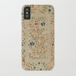 Uzbekistan Suzani Nim Embroidery Print iPhone Case