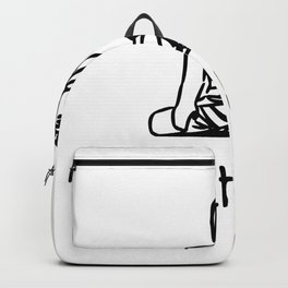 let that shit go Backpack