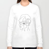 human Long Sleeve T-shirts featuring Human. by sonigque