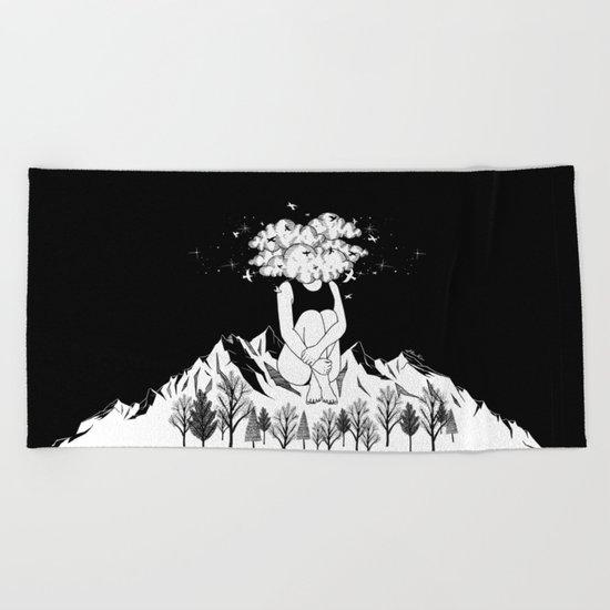 Across The Universe Beach Towel