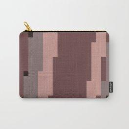 Mauve Pixels Carry-All Pouch