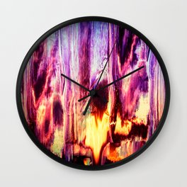 Abstract Artwork / Surreal Pattern / Abstract Pattern / Colorful Pattern Wall Clock