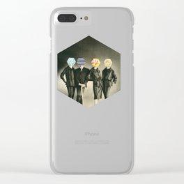 Modern Fashion Clear iPhone Case