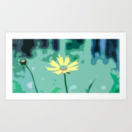 Wildflower Tickseed Coreopsis Art Print