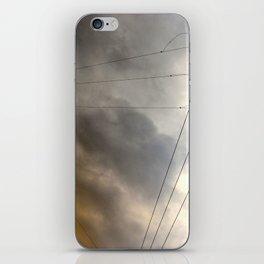 Wiry Sky iPhone Skin