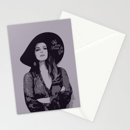 Lana Del Ray  Stationery Cards