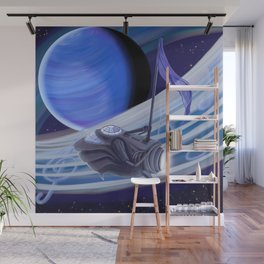Through Space and Sound Wall Mural
