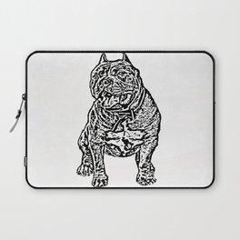 American Bully Laptop Sleeve
