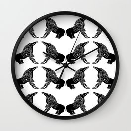 Demon Of Ancient Egypt - Bone Eater Wall Clock