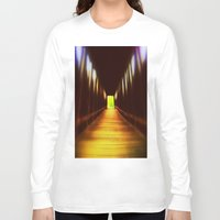 model Long Sleeve T-shirts featuring Model  by Stephenie
