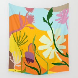 Floral 3 Wall Tapestry