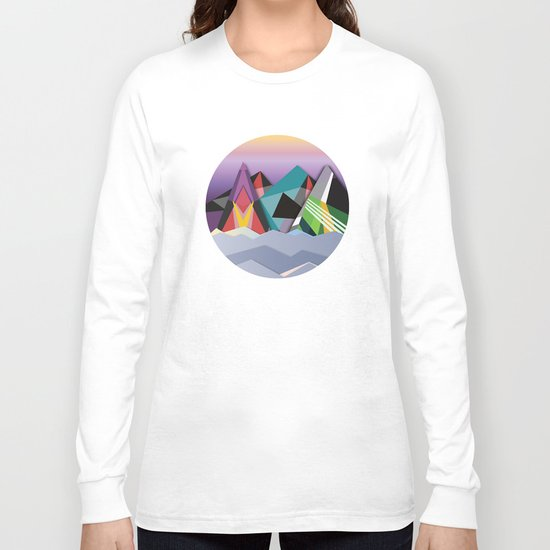 Cosmic Mountains No. 1 Long Sleeve T-shirt