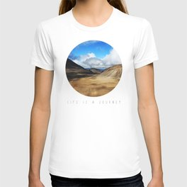 Life Is A Journey (Colour)  T-shirt