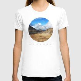 Life Is A Journey (Colour)  T-shirt