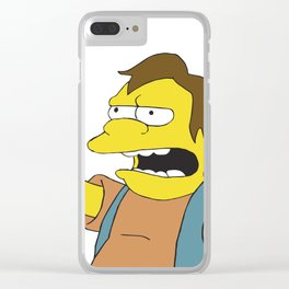 Nelson Clear iPhone Case