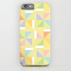 PINWHEELS - YELLOW iPhone 6s Slim Case