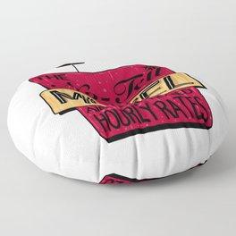 No-Tell Motel Floor Pillow