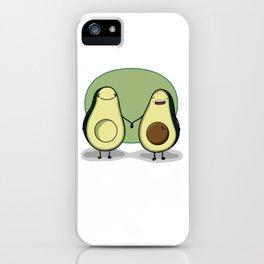 Pregnant avocados iPhone Case