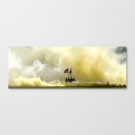 US Army Graduation - Panoramic Canvas Print