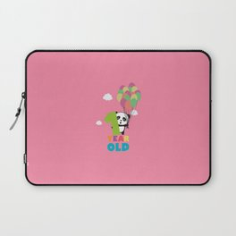One Year old first Birthday Party T-Shirt Daydz Laptop Sleeve