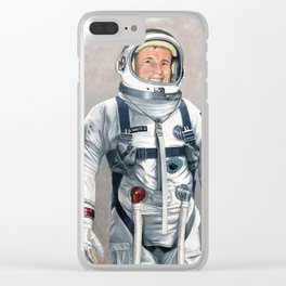 Ed White Clear iPhone Case