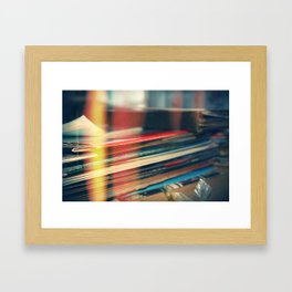 LEAKED. Framed Art Print