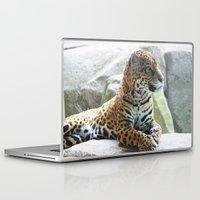 jaguar Laptop & iPad Skins featuring Jaguar by NaturallyJess
