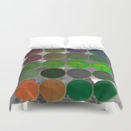 Crop Circles 2 Duvet Cover