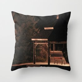 Join Me Down by the Water, Loo | Gazebo Throw Pillow