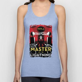 Master of Lightning Unisex Tank Top
