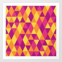 Triangle 1.1 Art Print