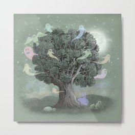 Tree Spirits  Metal Print