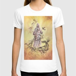 Jesus Christ and Religious Symbols T-shirt