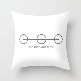 THE SPACING GUILD LOGO Throw Pillow