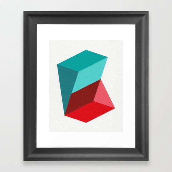 Prisms Framed Art Print