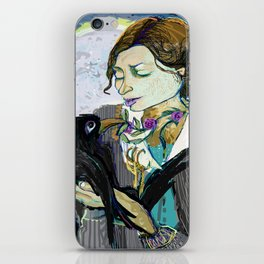 'Communication with the Raven' iPhone Skin