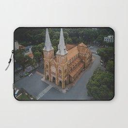 Notre-Dame Cathedral Basilica of Saigon Laptop Sleeve