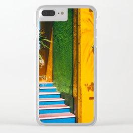 Caribbean Sherbert Casa Clear iPhone Case