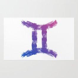 Zodiac sign Gemini Rug