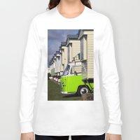 vw bus Long Sleeve T-shirts featuring Vdub VW Bus by Rainer Steinke