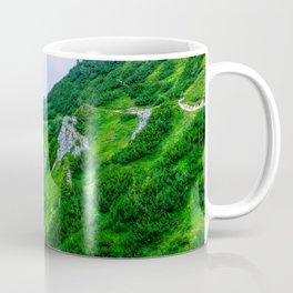 The steep path on the mountain Coffee Mug