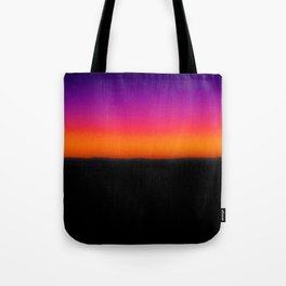 Horizon Line in Sunset Tote Bag